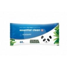 Влажные салфетки Снежная Панда Essential Clean Витамины, 60 шт.