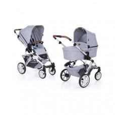 Универсальная коляска 2 в 1 ABC Design Salsa 4 Graphite Grey, светло-серый (12001431/900)