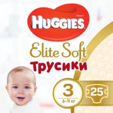 Подгузники-трусики Huggies Elite Soft Pants 3 (6-11 кг), 25 шт.