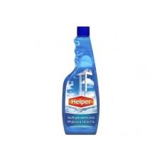 Средство для мытья стекла Helper Морская свежесть, запаска, 500 мл