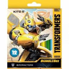 Набор фломастеров Kite Transformers, 12 шт., желтый (TF19-047)