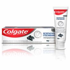 Зубная паста Colgate Безопасное отбеливание Природный уголь, 75 мл