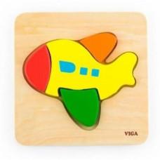 Пазл Viga Toys Самолет (50173)