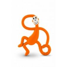 Игрушка-прорезыватель Matchstick Monkey Танцующая Обезьянка, оранжевый (MM-DMT-005)