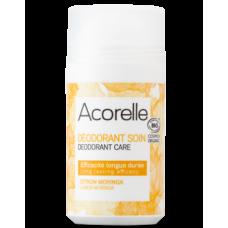 Органический роликовый дезодорант-уход Acorelle Лимон и моринга, 50 мл