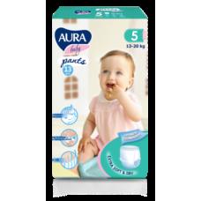 Подгузники-трусики Aura Baby 5/XL (13-20 кг), 13 шт.