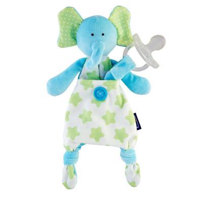 Игрушка с клипсой для пустышки Elephant