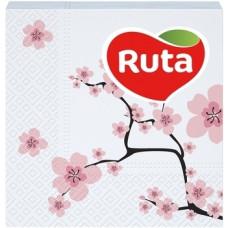 Бумажные салфетки Ruta Double Luxe Сакура, 40 шт.