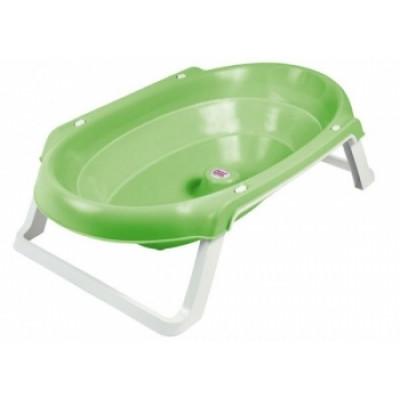 Ванночка OK Baby Onda Slim, анатомическая, зеленый, 81,2 см (38954440)