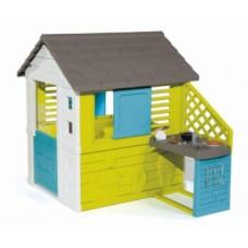 Дом Smoby Радужный с летней кухней (810711)