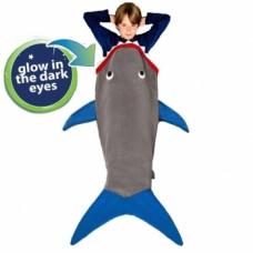 Плед-спальник Blankie Tails Акула (BT0003G-B)