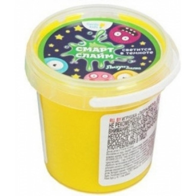 Игрушечная масса для лепки Genio Kids Лизун-мялка, желтый (SLI02-1)