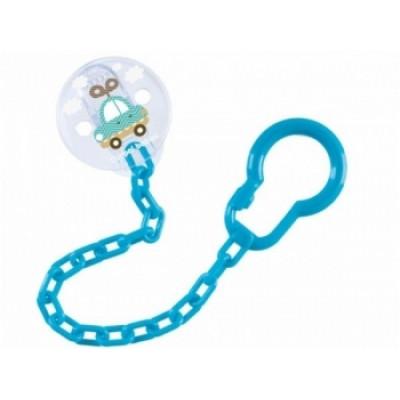 Держатель для пустышки Canpol babies Toys, синий (10/889)
