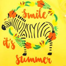 Песочник SMIL Smile it's summer желтый, р. 68 111243 ТМ: SMIL