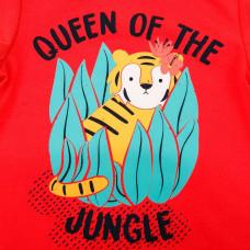 Песочник SMIL Queen of the jungle красный, р. 74 111243 ТМ: SMIL