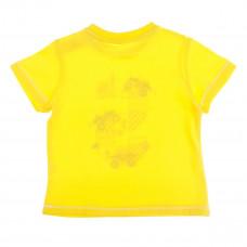 Футболка BluKids Stop желтая, р. 68 5110165 ТМ: BluKids