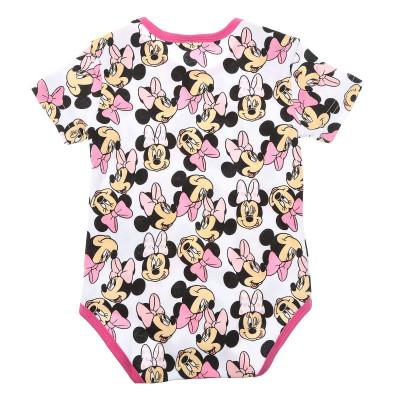 Боди E Plus M Minnie Mouse белый/розовый, р. 80 DIS MF 51 01 634 W1 ТМ: E Plus M