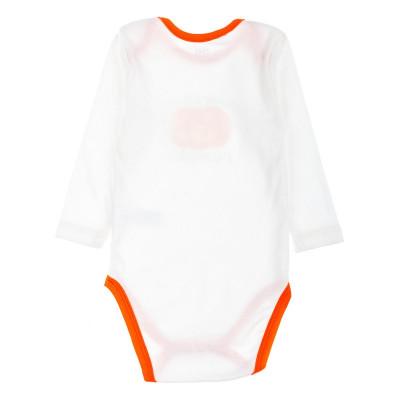 Боди Фламинго Halloween молочного цвета, р. 62 494-1006 ТМ: ФЛАМИНГО