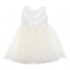 Платье Betis Настюша молочного цвета с повязкой, р. 98 27081529 ТМ: Бетис