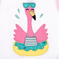 Песочник Silversun Flamingo Needs Vacation, р. 68 CT114164 ТМ: Silversun