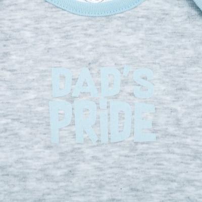 Боди ФЛАМИНГО Dad`s Pride, р. 68 495-1004 ТМ: ФЛАМИНГО
