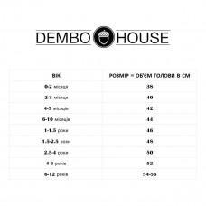 Шапка Dembo House Рон Blue, р. 50 20.01.026 ТМ: Dembo House