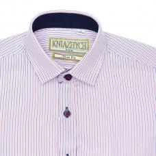 Рубашка Kniazhych Strips White, р. 140-146 WB-19 sl ТМ: Kniazhych