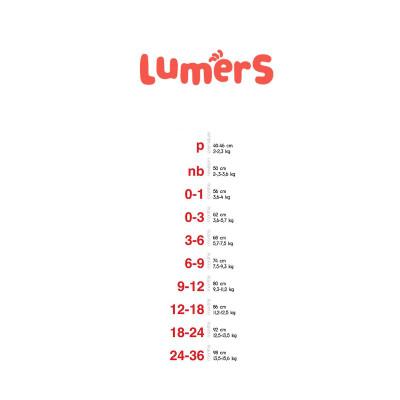 Боди Lumers Grey, р. 62 T2255 ТМ: Lumers