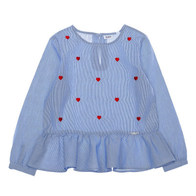 Блузка BluKids BCI Heart, р. 128 5527021 ТМ: BluKids