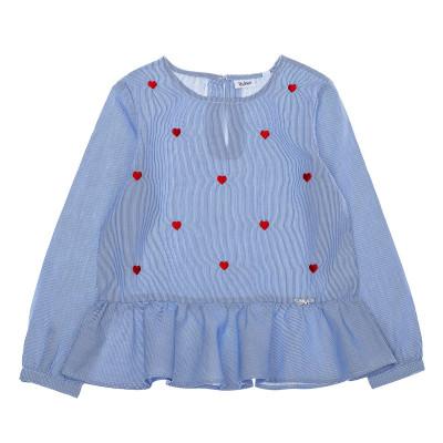 Блузка BluKids BCI Heart, р. 110 5527021 ТМ: BluKids