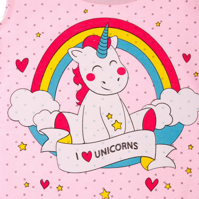 Боди Minikin Unicorns Pink, р. 74 1815602 ТМ: Minikin