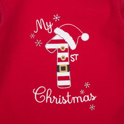 Боди BluKids My Christmas Red, р. 56 5594310 ТМ: BluKids