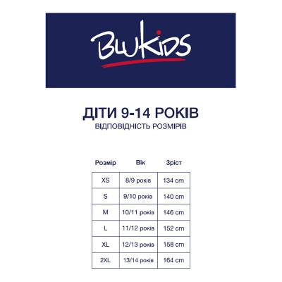 Брюки BluKids Basic Black, р. 140 5575461 ТМ: BluKids