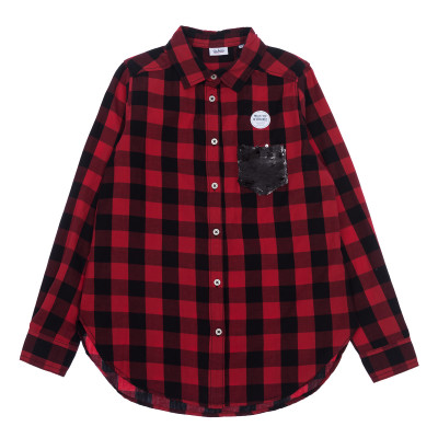 Блузка BluKids Pocket Red, р. 152 5566824 ТМ: BluKids