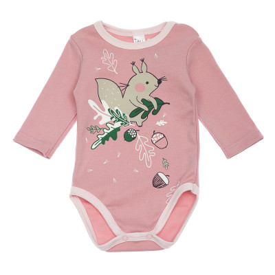 Боди Smil Squirrel Pink, р. 86 102481 ТМ: SMIL