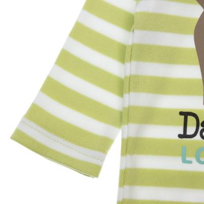 Боди SMIL Daddy Loves Me Green, р. 86 102488 ТМ: SMIL