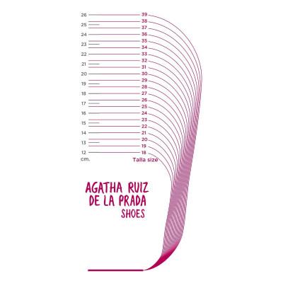Ботинки Agatha Gray, р. 24 191934-A-FB ТМ: Agatha Ruiz de la Prada
