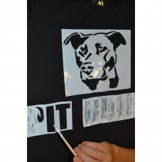 Набор для творчества F.oxy Футболка Pit bull, р. 158-164 1809 ТМ: F.oxy