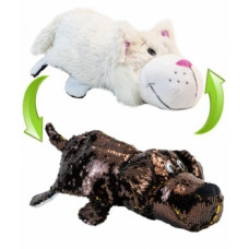 Мягкая игрушка ZooPrяtki 2 в 1 Лабрадор и Кот, 30 см (518IT-ZPR)