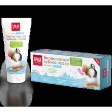 Детская зубная паста Splat Kids Защита от бактерий и кариеса Фруктовое мороженое, 50 мл
