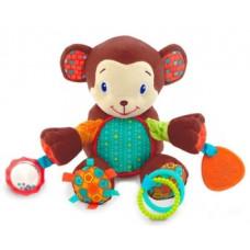 Развивающая игрушка Bright Starts Бесконечное развлечение Обезьянка (8814)