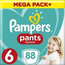 Подгузники-трусики Pampers Pants 6 (15+ кг), 88 шт.