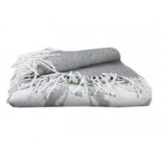 Плед LightHouse Happy Sheep, 200х140 см, серый (550330)