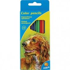 Набор цветных карандашей Kite Животные, 12 шт. (K15-051)