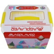 Магнитный конструктор Magplayer, 90 элементов (MPT2-90)