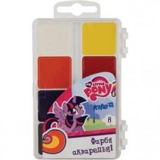 Акварельные краски Kite My Little Pony, 8 цветов (LP17-065)