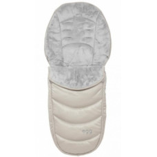 Зимний конверт в коляску Egg Jurassic Cream, молочный (5060427624628)