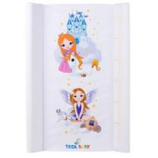 Пеленатор Tega Little Princess, 70х50 см, белый (LP-009-103)