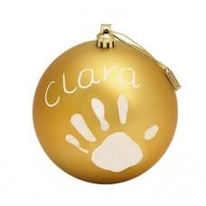 Рождественский шар Baby Art, 11 см, золотистый (34120154)