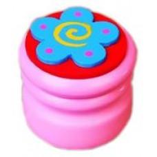 Шкатулка для молочных зубов Viga Toys Зубная фея Цветок, светло-розовый (53911)